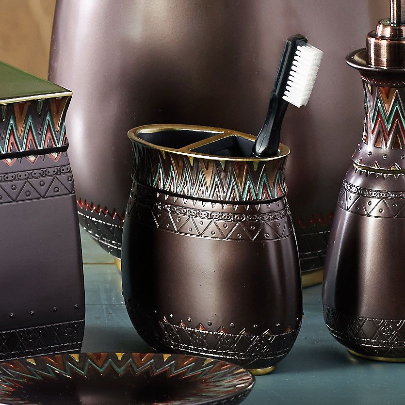 Tribal Flamestitch Toothbrush Holder - CLEARANCE