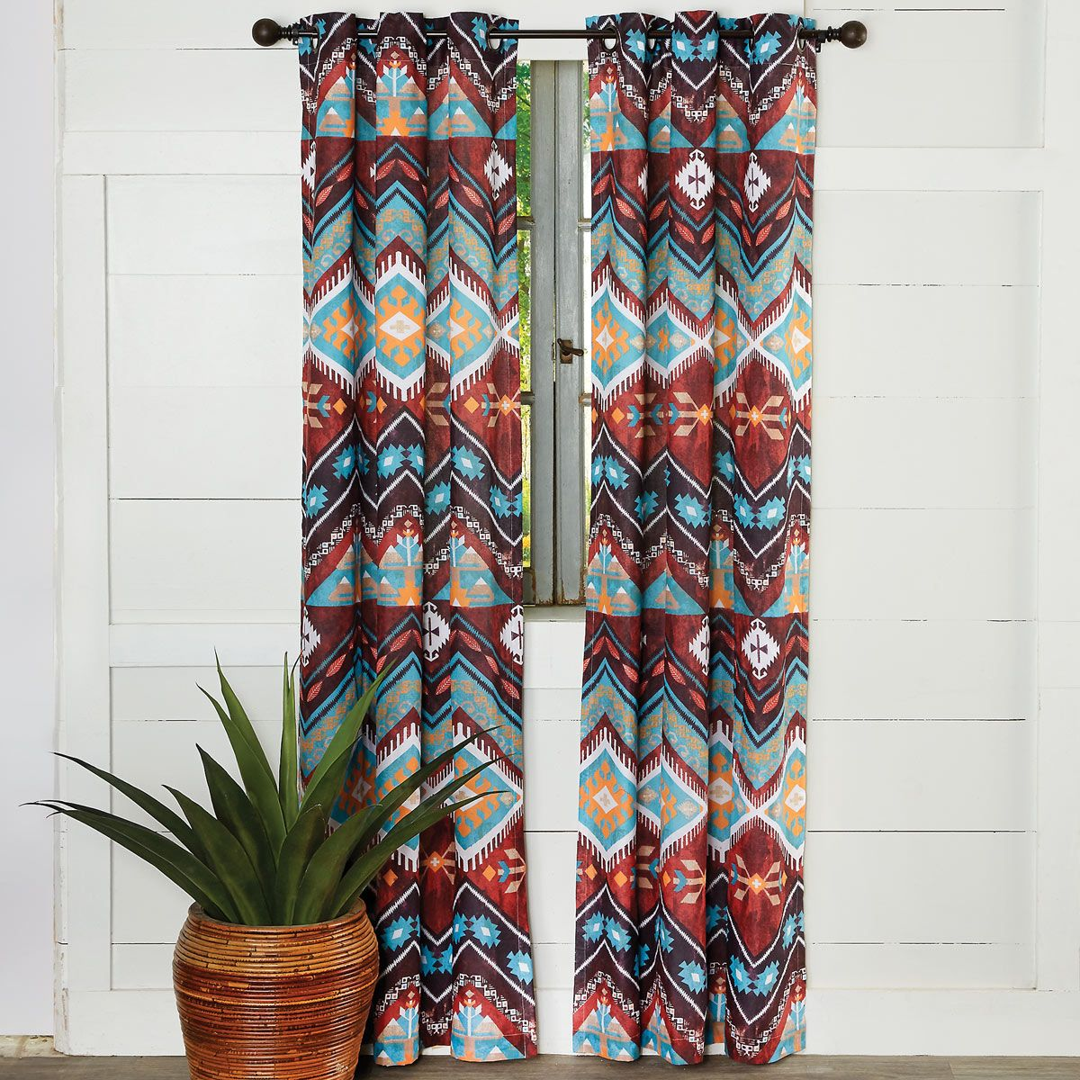 Tribal Horizon Drapes