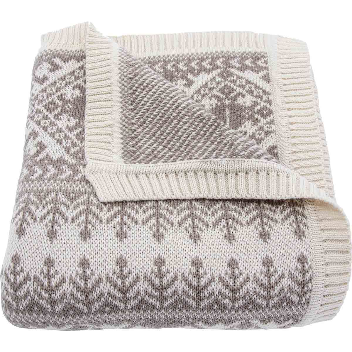 Tribal Knit Throw