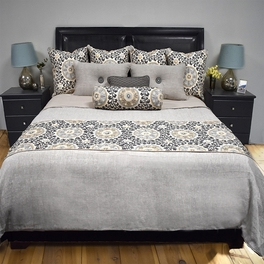 Tribal Platinum Basic Bed Sets