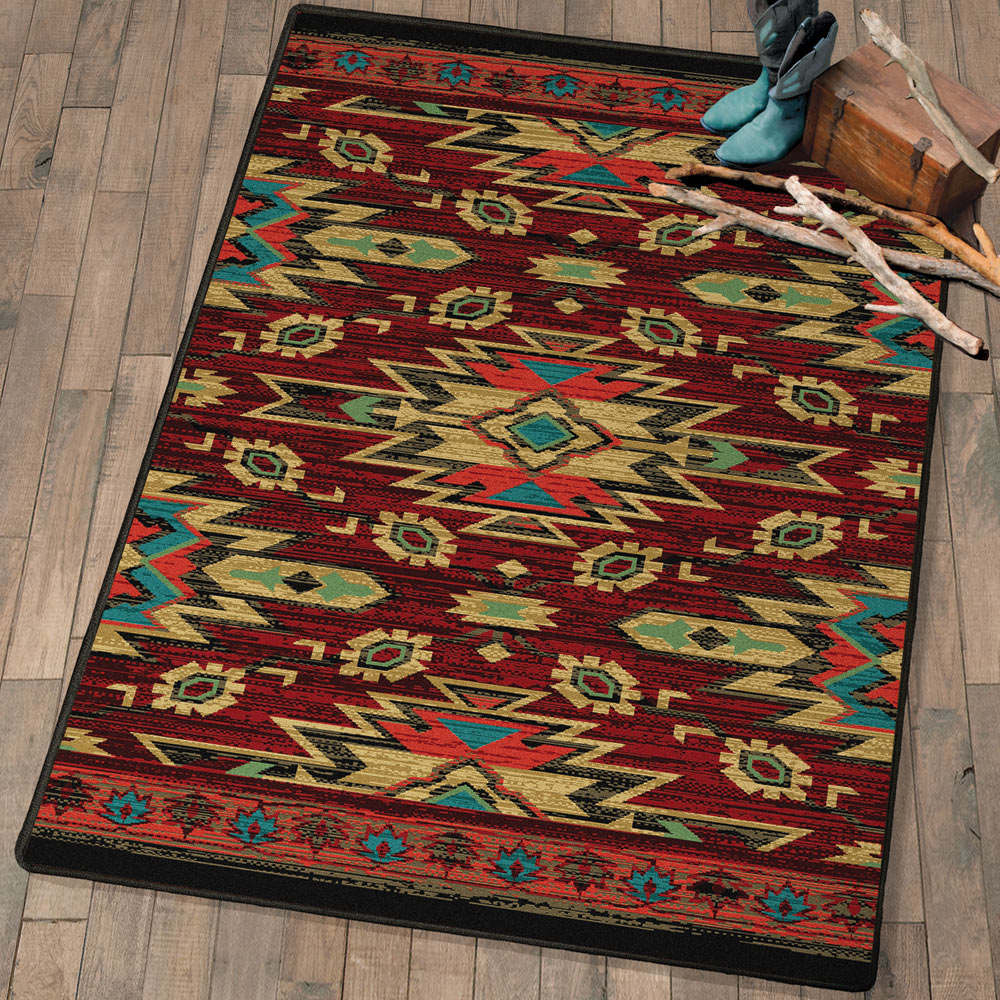Tribal Traces Southwestern Rug - 5 x 8