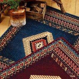 Tucson Blue Rug Collection