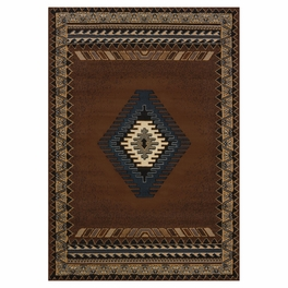 Tucson Brown Rug Collection