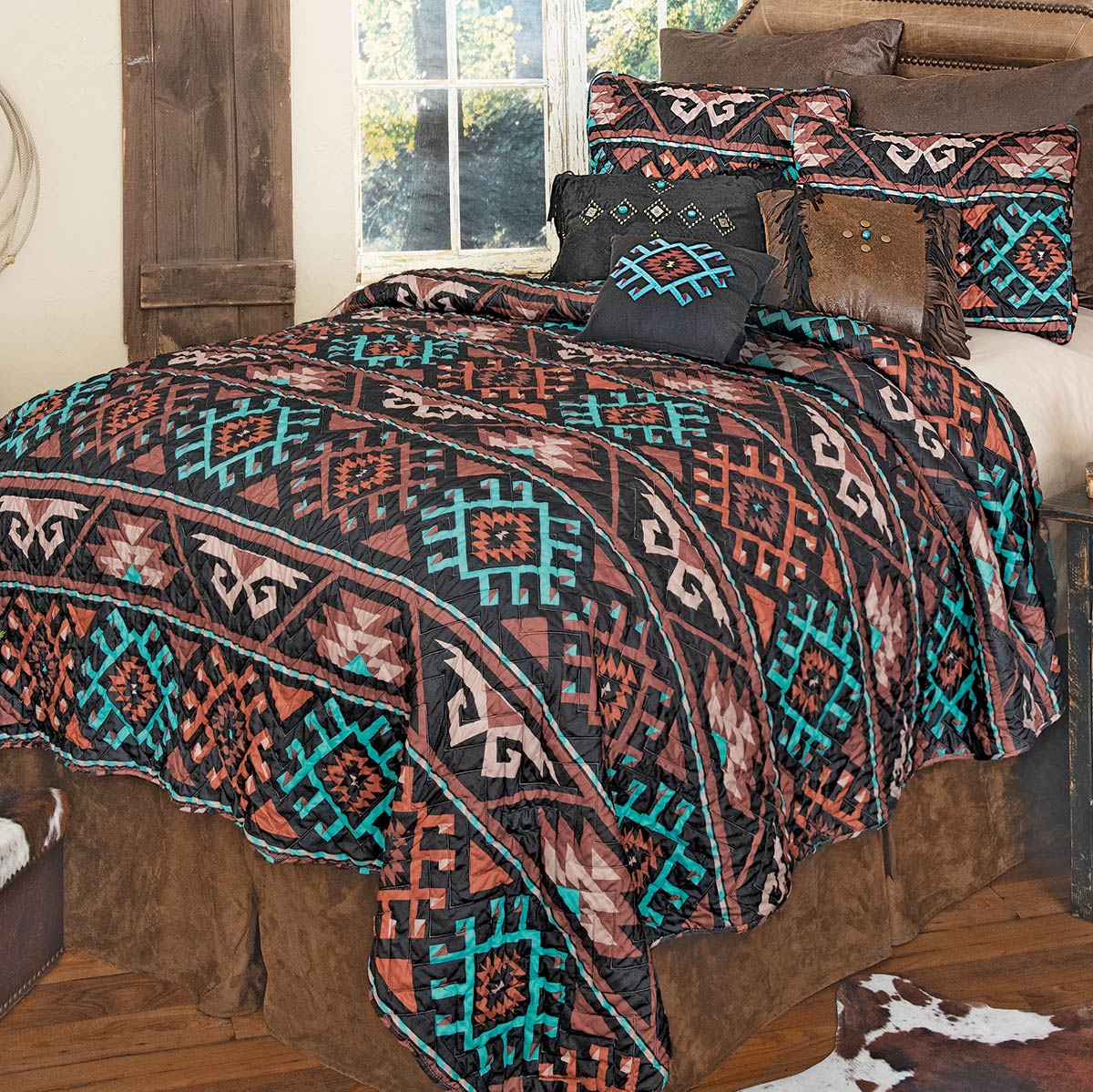 Tucson Southwest Quilt Set - Queen - CLEARANCE