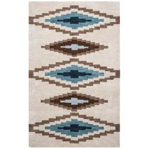 Tumbleweed Loft Stepped Diamonds Rug - 9 x 12