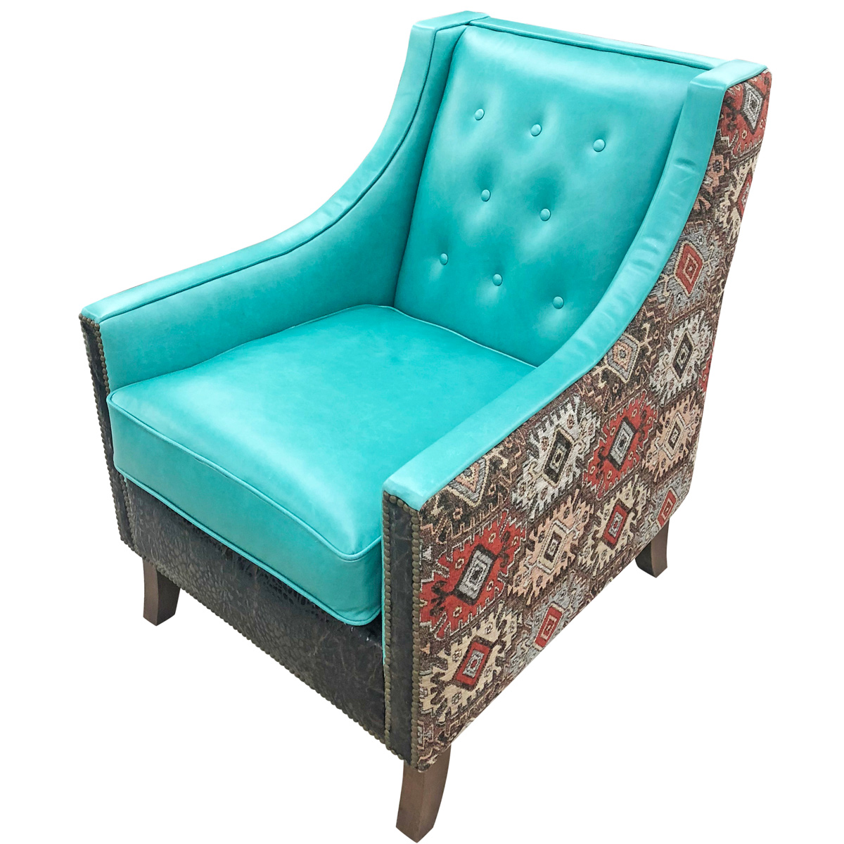 Turquoise Canyon Lounge Chair