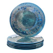 Turquoise Canyon Melamine Dinner Plate