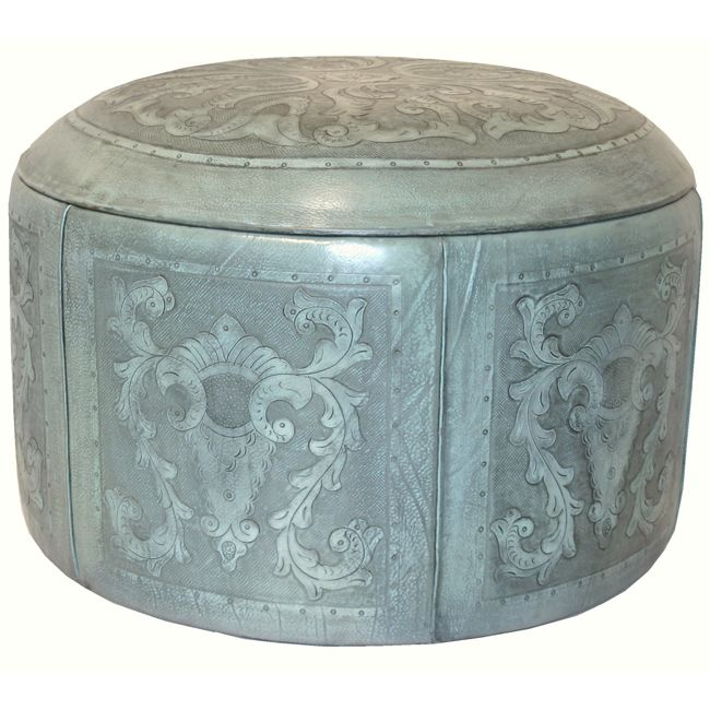 Turquoise Colonial Special Edition Ottoman Box