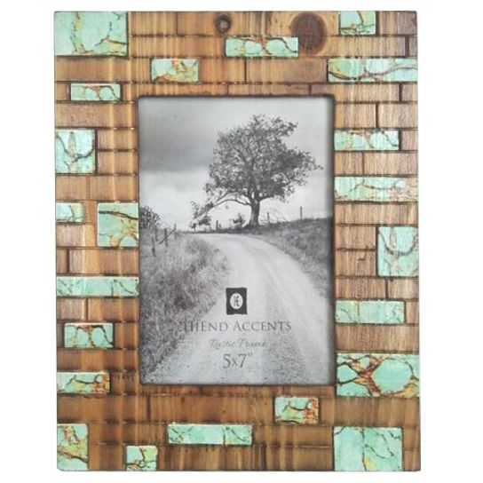 Turquoise Creek Photo Frame