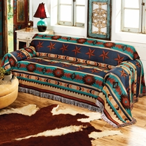 Turquoise Desert Sofa Cover - CLEARANCE