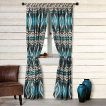 Turquoise Earth Drapes