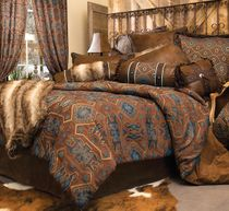 Turquoise Mesa Bed Set - King