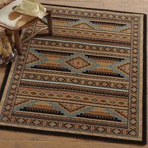 Turquoise Mountain Rug - 8 Ft. Square