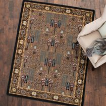 Turquoise Passage Rug - 4 x 5