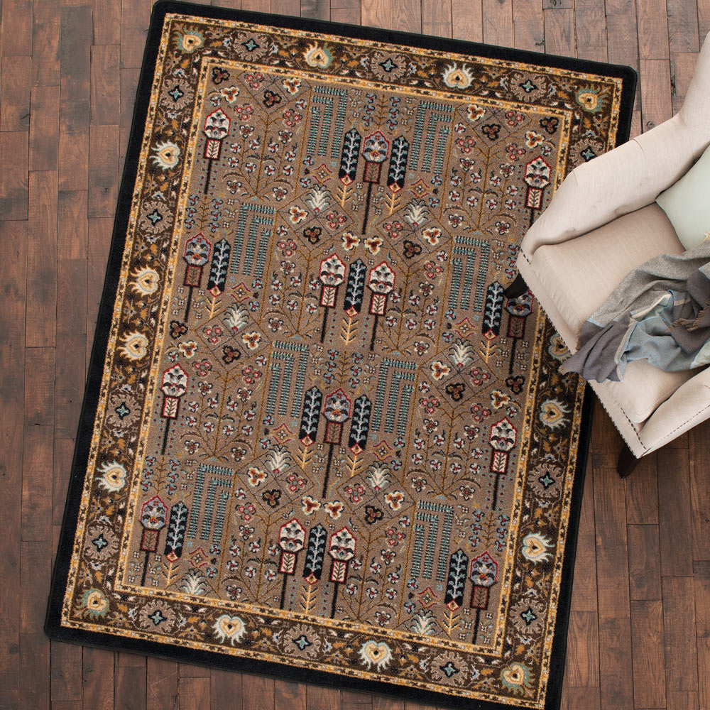 Turquoise Passage Rug - 8 x 11