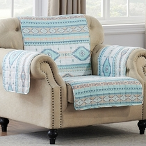 Turquoise Sky Chair Cover