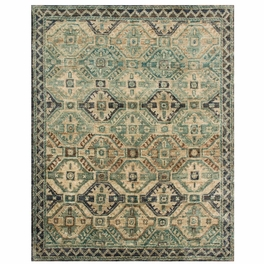 Turquoise Tiles Rug Collection