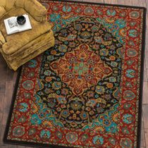 Turquoise Visions Rug - 8 x 11