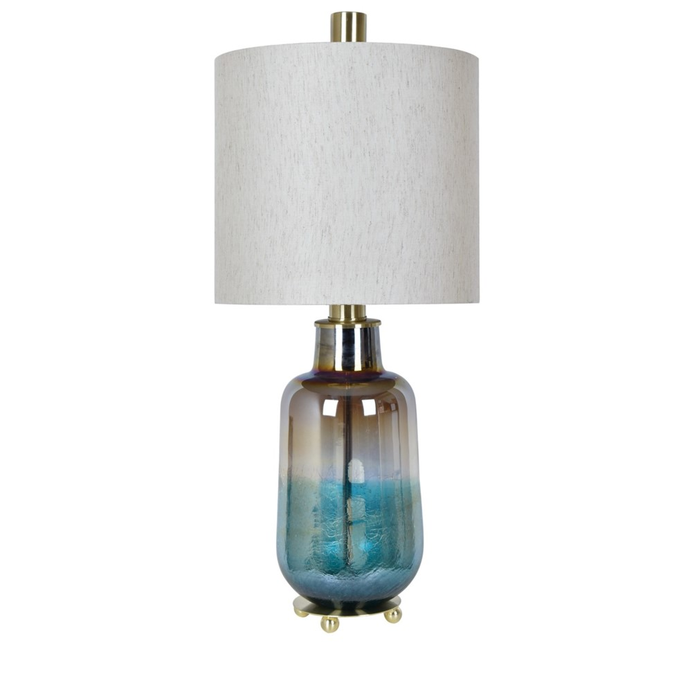 Turquoise Water Table Lamp