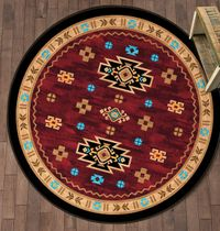 Two Canyons Rug - 8 Ft. Round