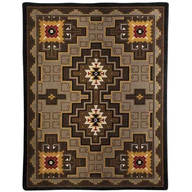 Two Sisters Rug - 8 Foot Square