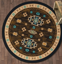 Two Valleys Rug - 8 Ft. Round