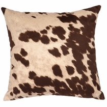 Udder Brown Square Pillow
