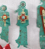 Unconditional Friendship Turquoise Spirit Woman Wall Art - CLEARANCE