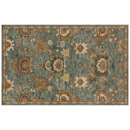Underwood Blue Rust Rug Collection