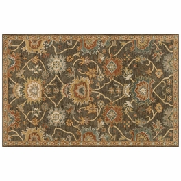 Underwood Charcoal Gold Rug Collection