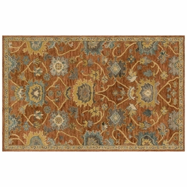Underwood Rust Gold Rug Collection