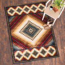 Valley of Fire Rug -�4 x 5