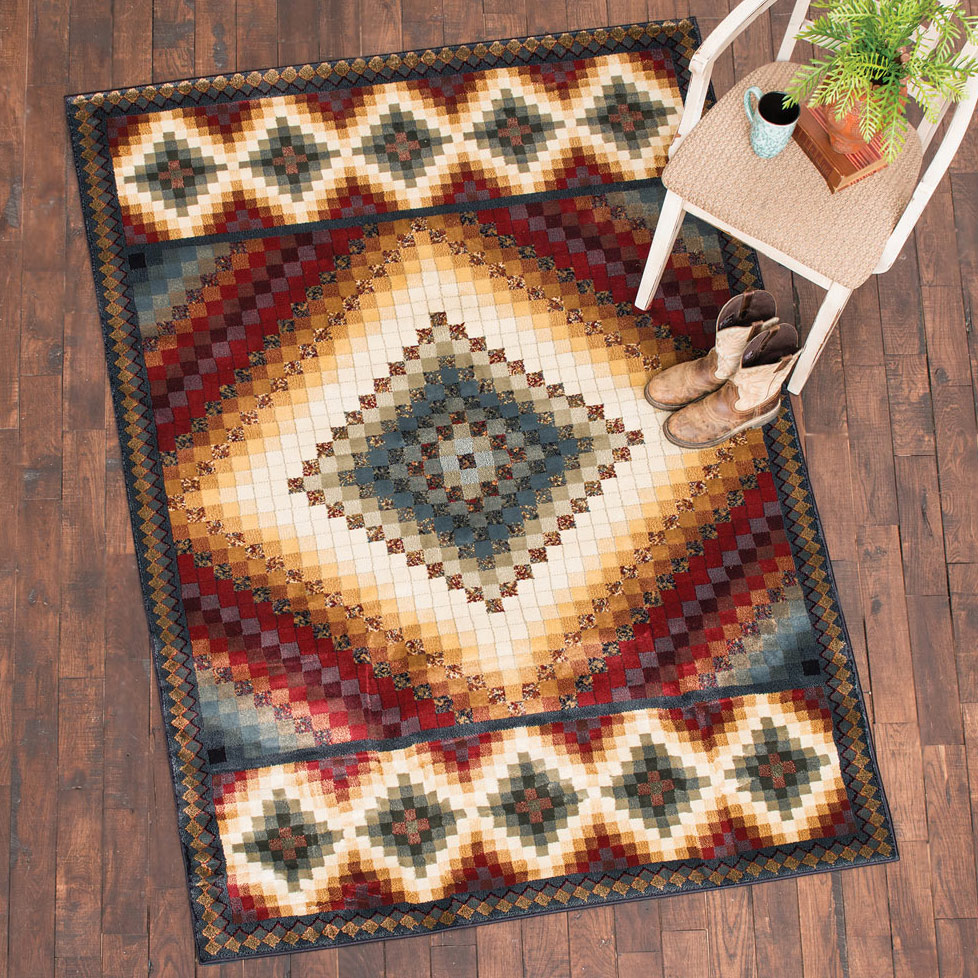 Valley of Fire Rug -�8 x 11