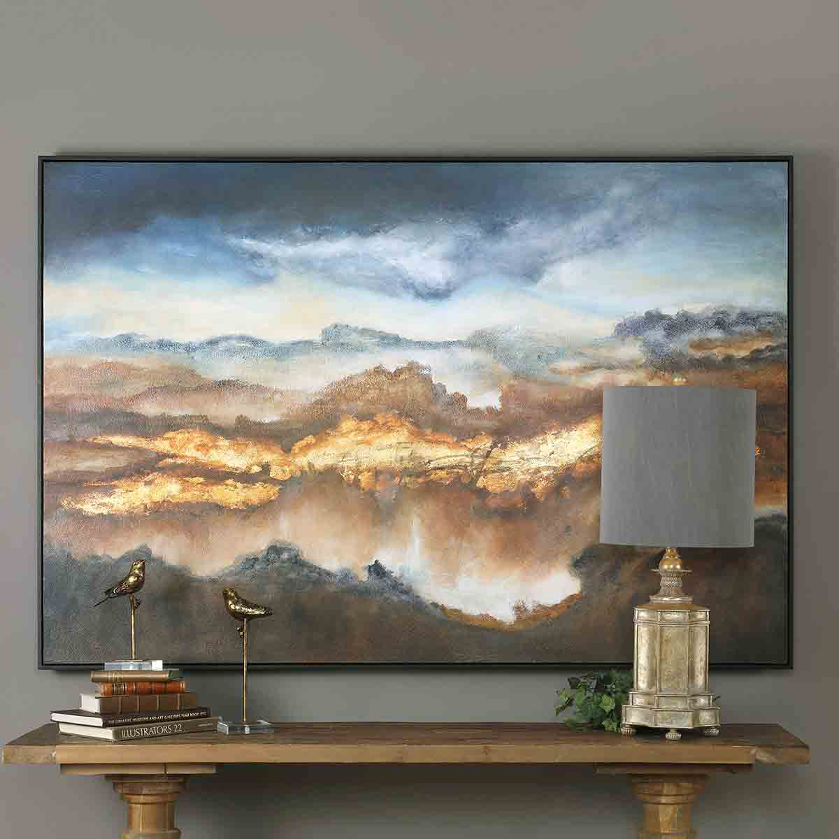 Valley of Light Art Print