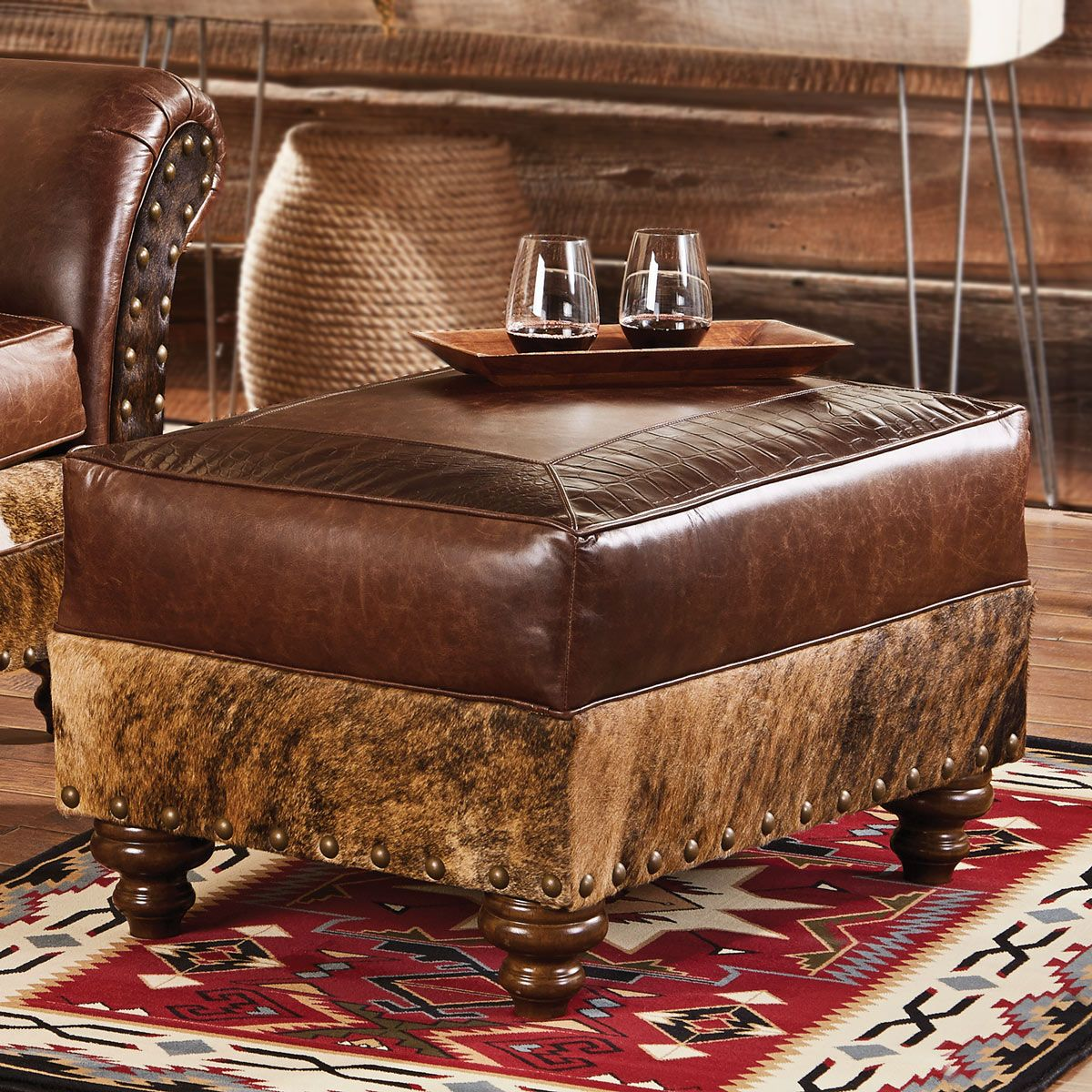 Groovy Western Leather Furniture Cowboy Furnishings From Lones Lamtechconsult Wood Chair Design Ideas Lamtechconsultcom