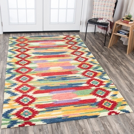 Vibrant Aztec Rug Collection