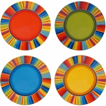 Viejo Dinner Plates - Set of 4