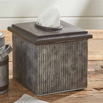 Vintage Square Canister Tissue Cover