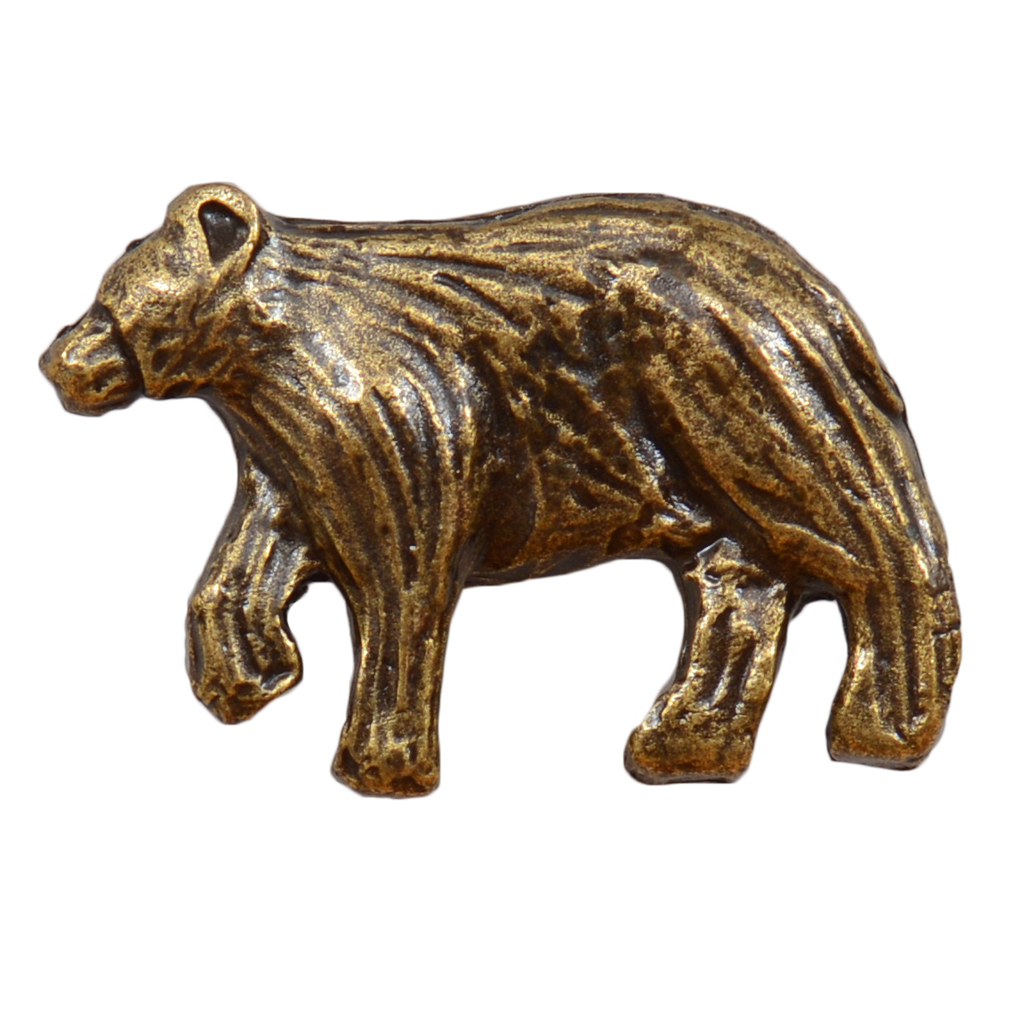 Walking Bear Cabinet Knob - Nose Facing Left
