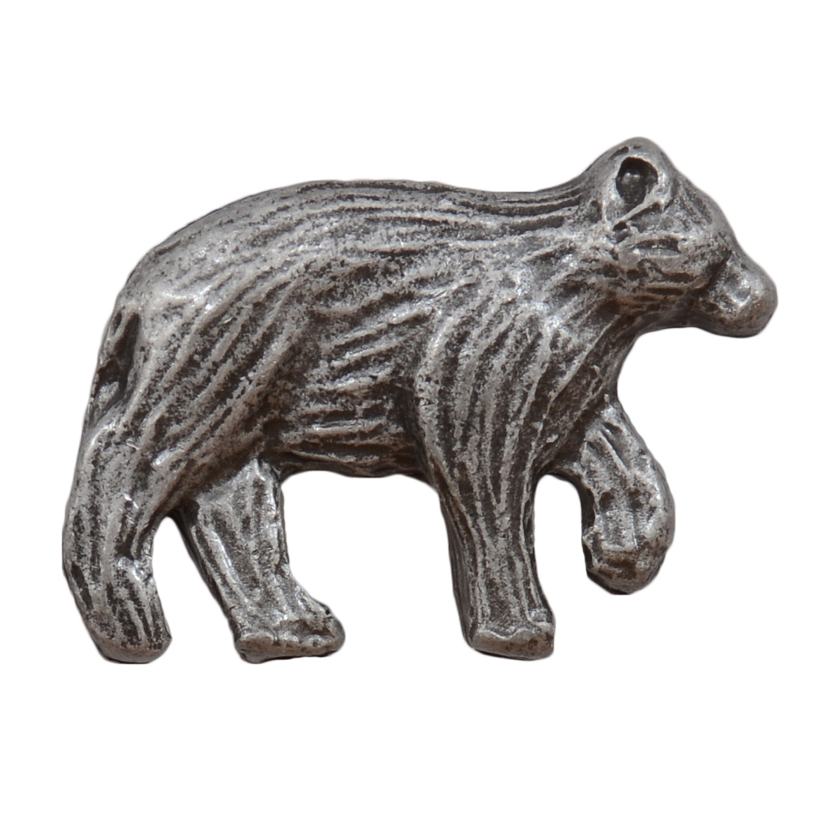 Walking Bear Cabinet Knob - Nose Facing Right