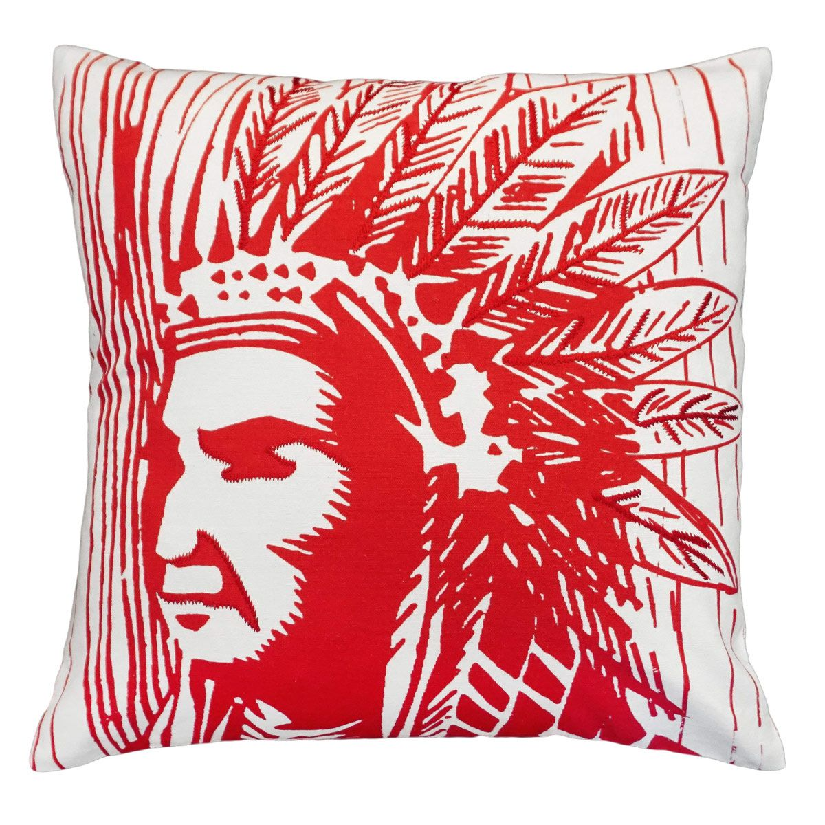 Warrior Printed Pillow