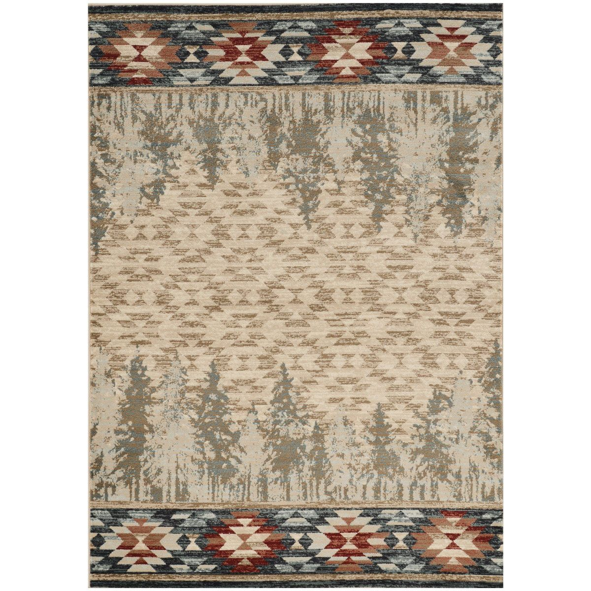 Wasatch Pines Rug - 8 x 10