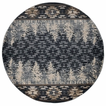 Wasatch Slate Rug - 8 Ft. Round