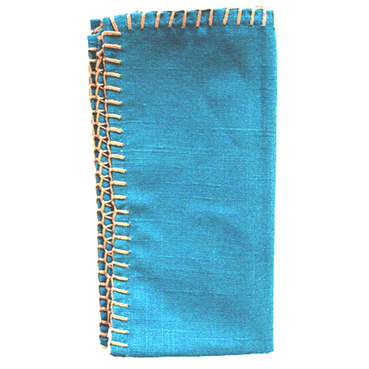 Washed Denim Napkins - Set of 4