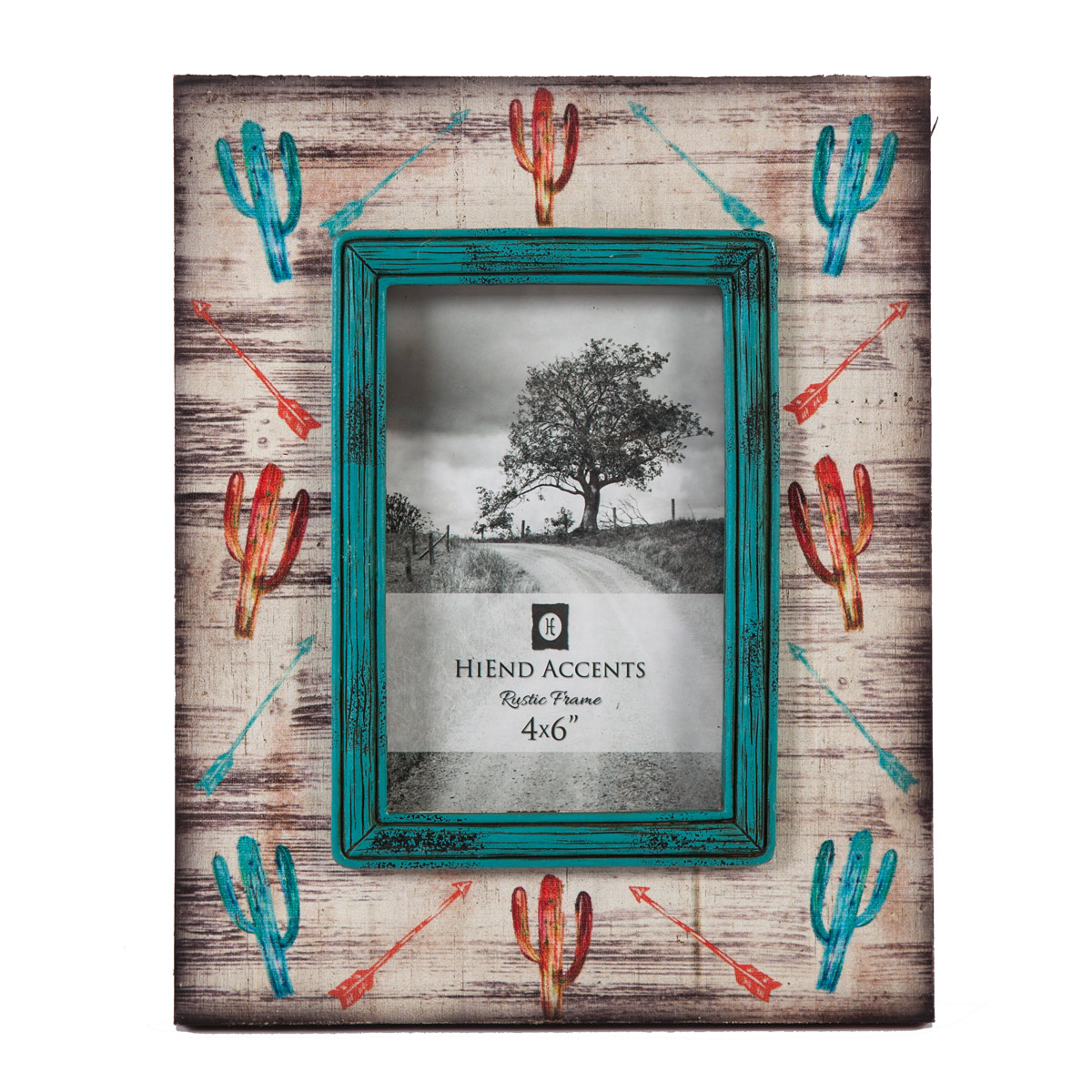 Watercolor Cactus 4 x 6 Photo Frame