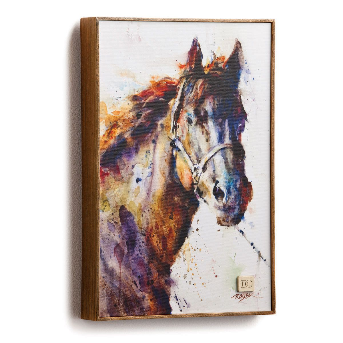 Watercolor Horse Framed Wall Art
