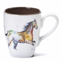 Watercolor Horse Mug