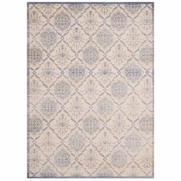 Weathered Trellis Blue Rug Collection