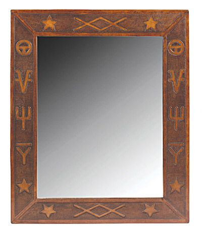 Western Brands Super Jumbo Mirror