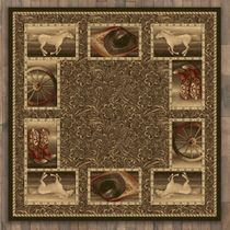 Western Home Rug - 11 Ft. Square